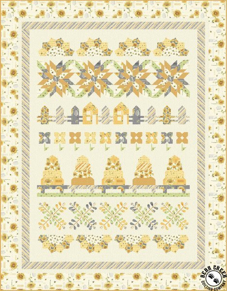 Bee My Sunshine – Bee Keeper's Farm Free Quilt Pattern