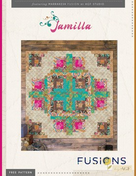 Quilt Pattern – Jamila Quilt by AGF Studio