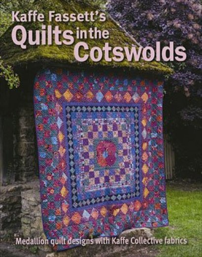 Book Review – Kaffe Fassett's Quilts in the Cotswold