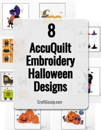 AccuQuilt Halloween Embroidery Designs