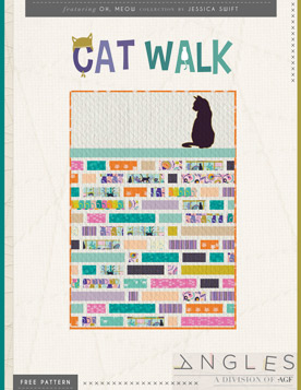 Quilt Pattern – Cat Walk by Jessica Swift