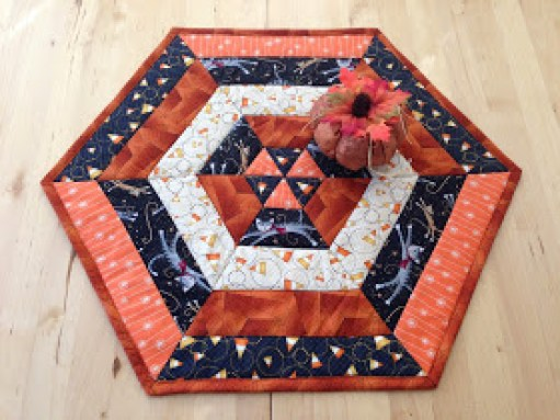 Candy Corn Table Topper Tutorial