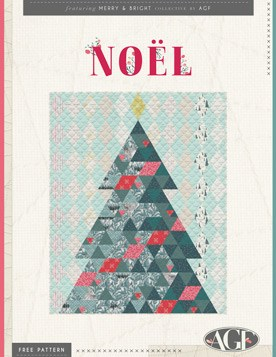 Quilt Pattern – Noel Quilt by AGF Studio