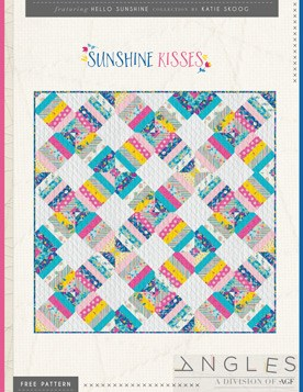 Quilt Pattern – Sunshine Kisses by Katie Skoog