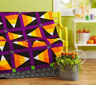 Candy Corn Free Quilt Pattern