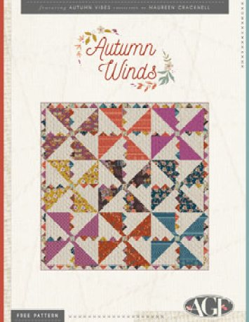 Quilt Pattern – Autumn Winds by AGF Studio