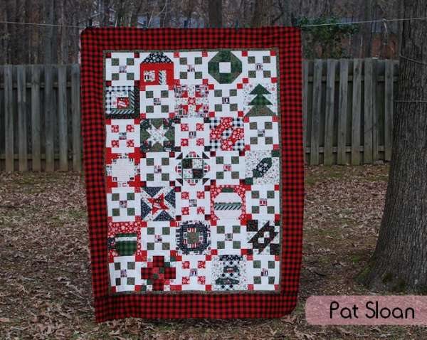 Pat Sloan – Merry And Bright Quilt Pattern
