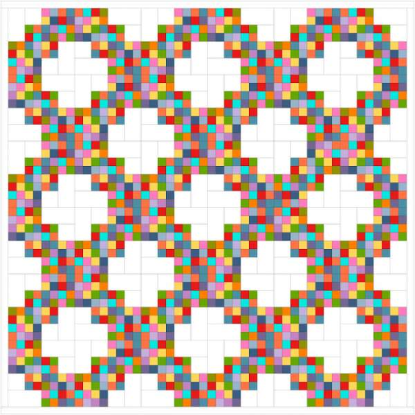 Twirling at the Disco Quilt Pattern