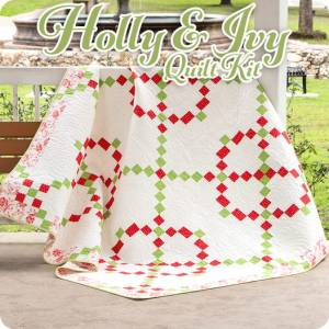 Holly and Ivy Quilt Kit