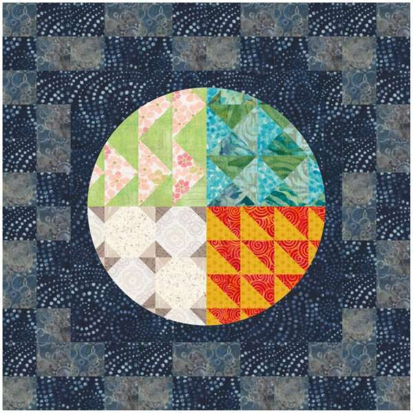 Seasons Change Mini Quilt for Earth Month
