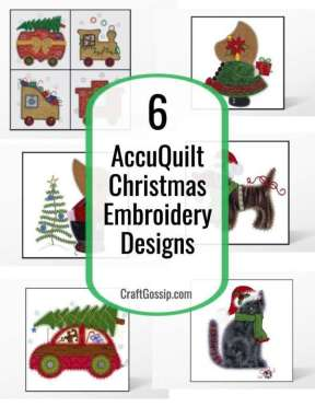 AccuQuilt Christmas Embroidery Designs