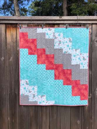 Two Hour Baby Quilt Free Pattern