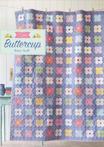 Tilda Fabrics Buttercup Free Quilt Pattern
