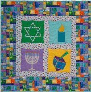 Hanukkah Sampler Quilt – Free Pattern