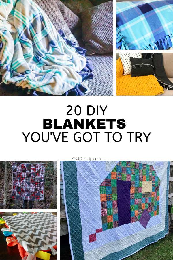 20 DIY Blankets and Quilts