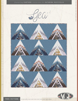 Quilt Pattern – Gea Quilt by Katarina Roccella