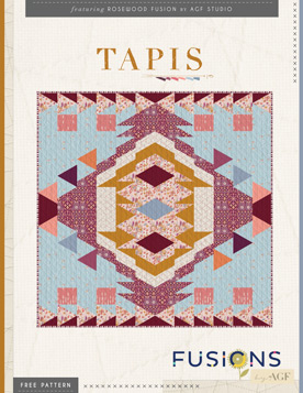 Quilt Pattern – Tapis Quilt by AGF Studio