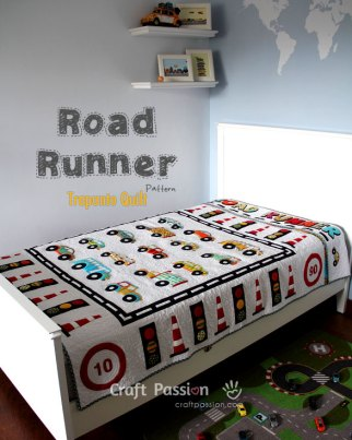 Children's Road Vehicles – Free Quilt Pattern