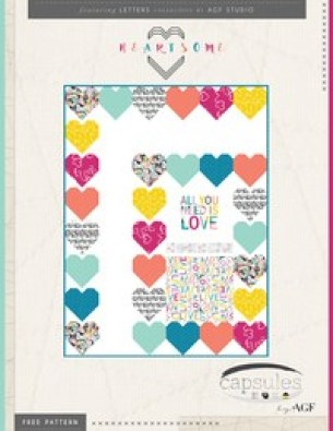 All You Need is Love – Free Quilt Pattern