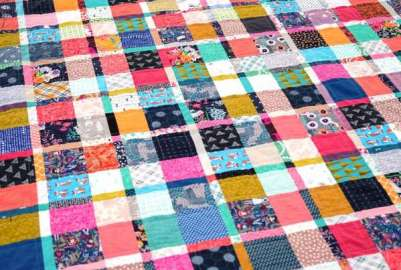 Scrap Plaid Quilt – Free Pattern