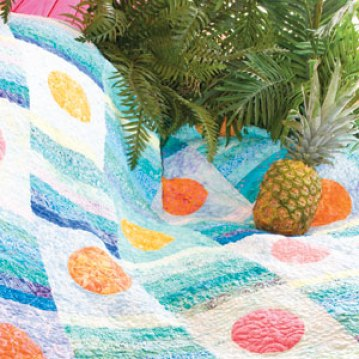 Free Caribbean Sunset Quilt Pattern