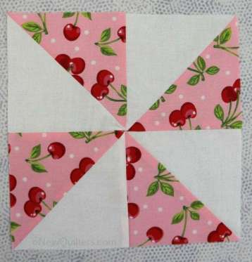 How to Sew a Pinwheel Quilt Block