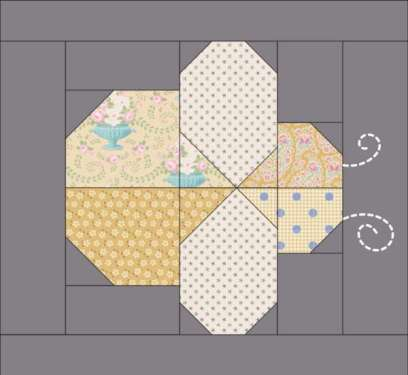 Free Bee Quilt Block Pattern