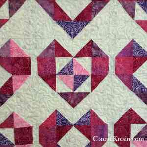 Free Heart Baby Quilt Pattern