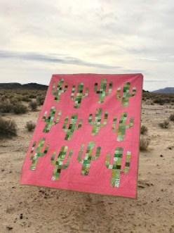 Free Saguaro Cactus Quilt Pattern