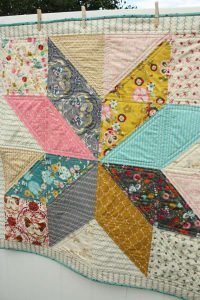 Bold Star Baby Quilt Patterns – Free Tutorial