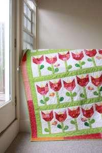 Tulip Quilt – Free Pattern