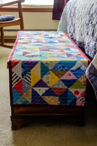 Free Quilted Bed Runner Pattern