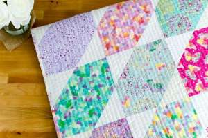Easy Fat Quarter Quilt – Free Pattern