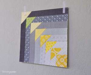 How to Make a Quilt As You Go Quilt Block