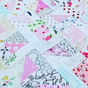 How to Make a Low Volume Scrappy Triangle Quilt Block