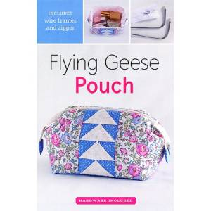 Flying Geese Quilted Pouch Pattern