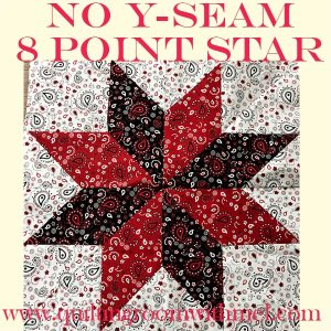 How to Make an Eight Point Star Quilt Block