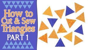 How to Cut Equilateral Triangles – Three Ways
