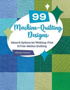 99 Machine Quilting Designs – Book Review