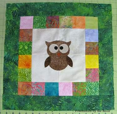 Owl Quilt Block Tutorial – Free Pattern