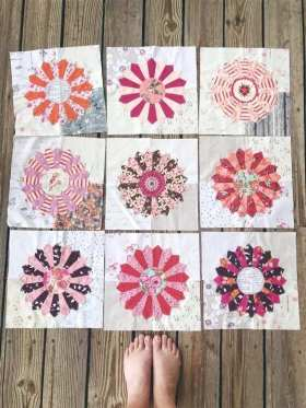 How to Make a Top Stitch Dresden Plate Quilt Block