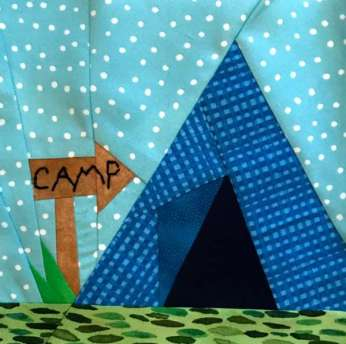 Glamping Quilt Block Patterns