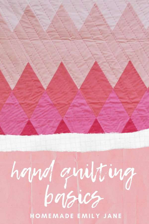 How to Hand Quilt – Free Tutorial
