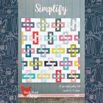 Modern Jelly Roll Quilt Pattern