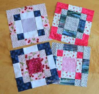 How to Make a Double Disappearing Nine Patch Quilt Block