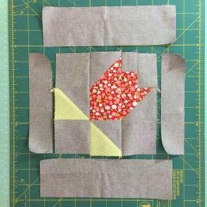 Spring Tulip Quilt Block Tutorial
