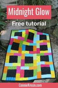 Fat Quarter Wall Hanging Quilt – Free Pattern