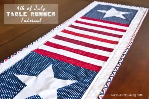 Fourth of July Star Table Runner Pattern