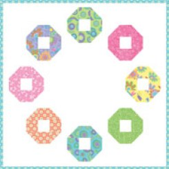 Modern and Pretty Quilted Wall Hanging Pattern