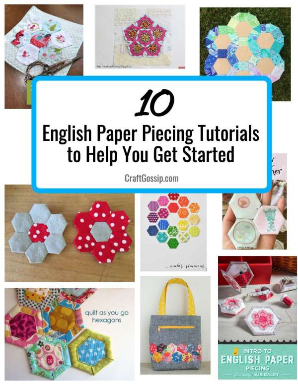 10 English Paper Piecing Projects